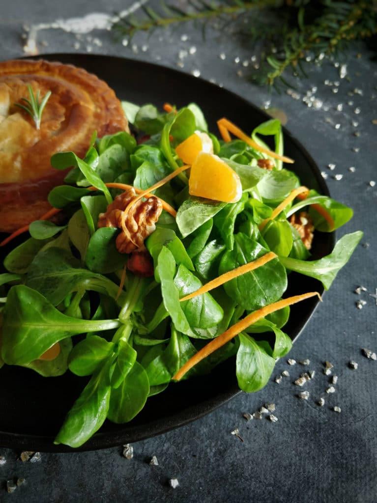 Salade de mâche aux noix